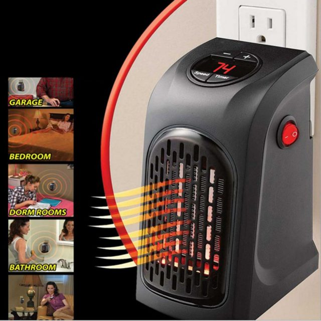 Mini Electric Fan Heater