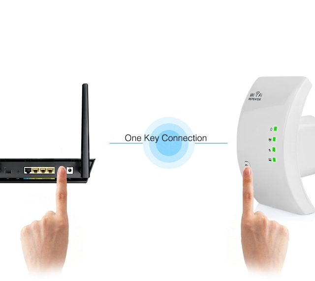300 Mbps Wireless WiFi Extender