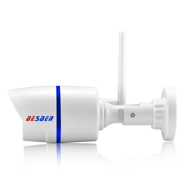 Weatherproof Adjustable Wi-Fi Full-HD Camera With SD Card Slot