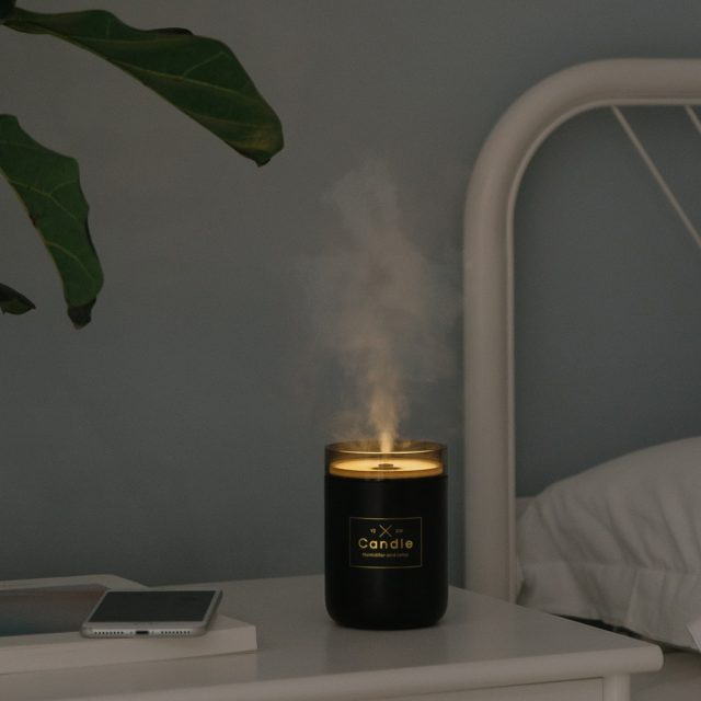 Candle Shaped Ultrasonic Air Humidifier