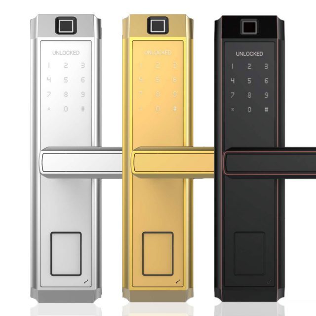 Home Security Anti-Theft Smart Electronic Metal Door Lock