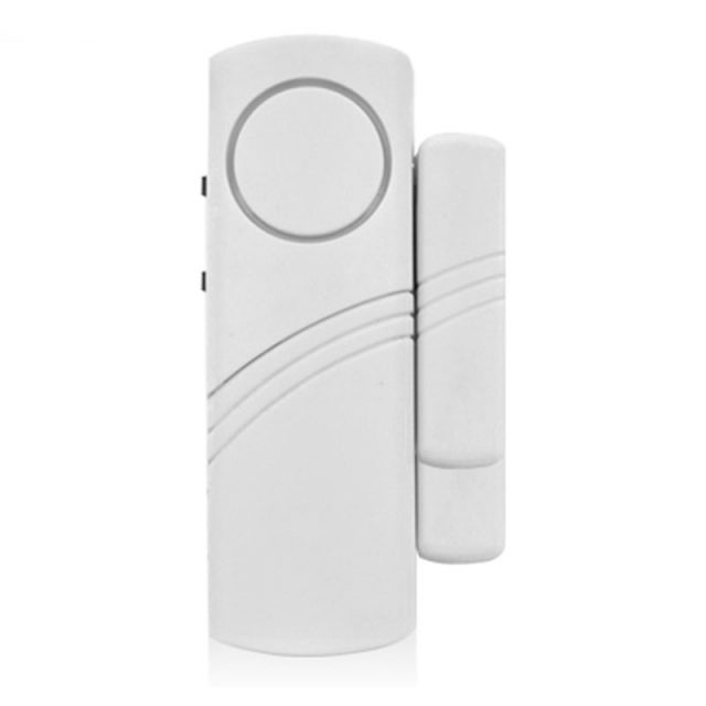 Door and Window Burglar Alarm with Magnetic Sensor