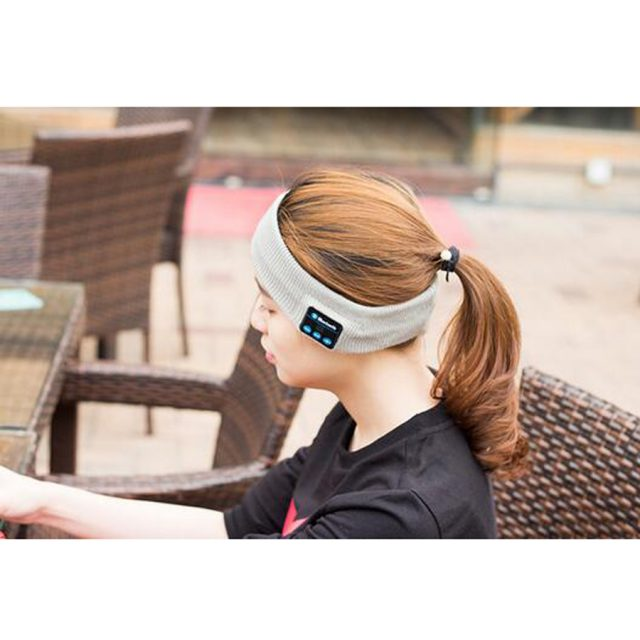 Headbands With Built-In Wireless Speaker